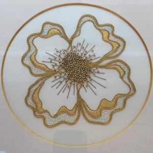 Creative Goldwork Flower Doodle Kit