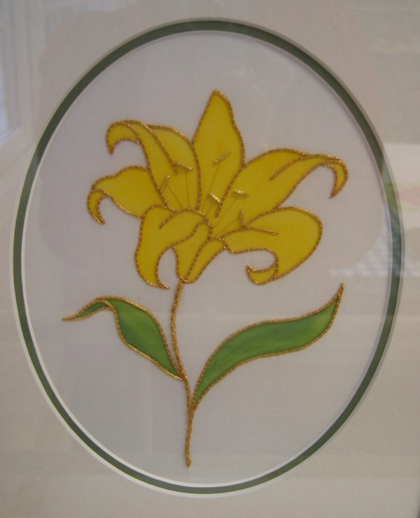 Creative Embroidery: Goldwork Kit: Lily